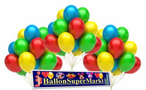 Ballons steigen lassen. Ballonsupermarkt!