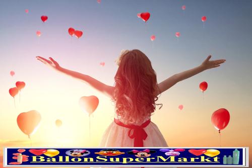 Begeisterung: Ballons steigen auf!